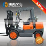 Low price gasoline/lpg forklift 3.5t trucks for sale with Nissan k21