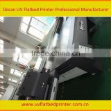 Docan glass sliding door printer UV2030 digital inkjet flatbed printer wood aluminum printer