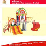Attractive kids toys Carton Fair plastic animal outdoor playground gym for sale H30-1444