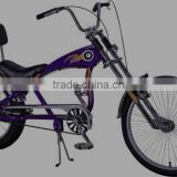 environmental beautiful kingbike extendable funny kids chopper style bicycle