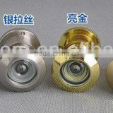 200 Degree high-definition wide angel lens polished Brass Material Door Viewer with cover