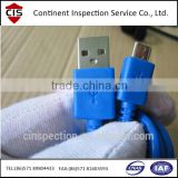 USB cable,USB drive,inspection service,agency,company in China,quality control,QC/QA inspection,loading check,final random check