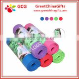 High density NBR 10mm thickness eco-friendly yoga mat with bag                                                                                                         Supplier's Choice