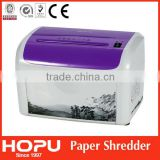 Favorite Hot mini office document paper shredder/paper destroyer from Hopu made in China