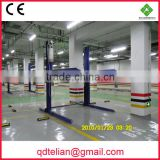 PTJ201-27 automated double columns parking car lift/hydraulic two level parking machinery