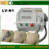 best selling beauty products 1064nm & 532nm Q-Switched ND YAG Laser Tattoo Removal cheap machine