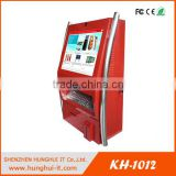 19-Inch Slim Touch Screen Information Wall Mounted Kiosk With Keyboard