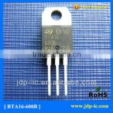 Best price Triacs Silicon Bidirectional Thyristors bta16-600b transistor