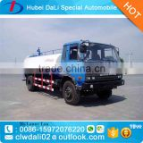 Cesspit Emptier Truck 8000Ltr to 12000Liters Vacuum Suction Fecal Pump Tank Truck 190HP Diesel Engine