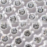 SS6 crystal rhinestone banding, cup chain ,bijouterie, connectors for jewelry diy ab rhinestone trimming