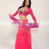 SWEGAL SGBDW13020 3colors black lady black women sexy princess mysterious fashion pretty belly dance dress