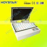 Desktop vacuum uv exposure unit for pad printing polymer plate