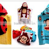 Children Bathrobe Hooded Towel Bamboo Summer Super Soft