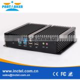 High Quality New Design Onboard Intel Core i3 4010U 1.7 Ghz Dual Core Fanless Aluminium Mini Itx Case