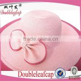 Natural Sun Hat With UV Protection Cap Sunblock Hat Vogue Women Lady Girl Brim Summer Beach Sun Straw Sun Hat                                                                         Quality Choice