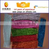 High quality glitter christmas chenille stems for decoration/ Craft pipe cleaner for kids diy
