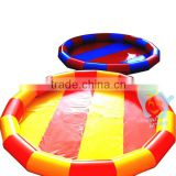 above ground 0.9mm pvc inflatable pool covers for inground