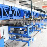 wall and roof sandwich panel compounding machine with good pu sandwich panel forming machine