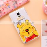 New Arrival Cute Cartoon Mickey Minnie Pooh Bear Case soft TPU funda cover for iPhone 6 6Plus Phone Case