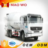 MAOWO 6cbm used mini dimension cement concrete mixer truck for sale                                                                         Quality Choice