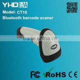 High quality usb bluetooth barcode scanner with memory bar code scanner, hot sale barcode reader