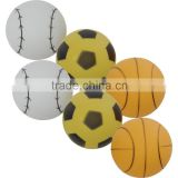 Soccer ball printing 40mm seamless beer pong ball customized printing pingping ball table tennis balls
