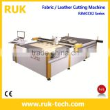 Textile POS Standing Computerized Cutting Machine (Apparel Garment Fabric Footwear Foot Mats Luggage Automatic Cutter)