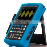 Digital portable 150MHz handheld oscilloscope with 3 operation ways high resolution touch screen MS215T