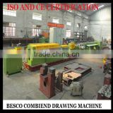 combined brass coil drawing machine, combined stainless steel coil drawing machine