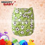 Naughty baby Reusable Washable water-proof PUL Printed pocket baby boy girl Cloth Diaper nappy