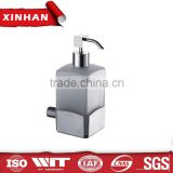 wall mount hospital hotel stainless steel liquid soap dispenser pump hand manual soap pump