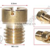 M5x0.8 Main JET For Mikuni KEIHIN Dellorto OKO KOSO CVK PWK GY6 Carburetor ATV Buggy Scooter Dirt Bike Parts