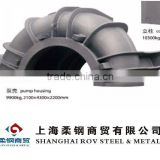Pump housing iron casting