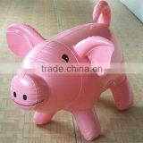 Promotional high quality customized cheap pvc blow up animals for advertising