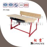 AP Good quality school furniture modern double school desk and bench