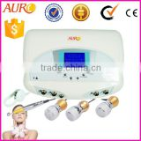 (Au-1011) Professional Electrophoresis ultrasonic mesotherapy wrinkle removal therapy no needles machine for face massage