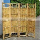 2016 WY-198 Beautiful fashion decorative indoor bamboo folding screen and bamboo fence