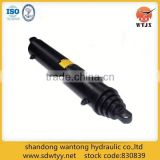 single/double acting telescopic hydraulic cylinders for garbage truck/bucket truck/tractor trails/agricultural/mining