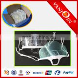 Clear Transparent Sanitary Mask with PERMANENT & DOUBLE SIDED Anti-Fog Shield