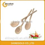 3pcs cheap wooden spoon
