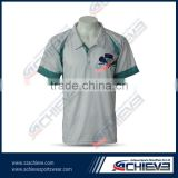 Heat transfer printing breathable polyester fishing shirts