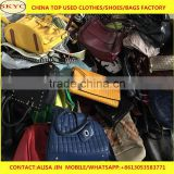 Africa buyers looking second hand bags warehouse China women big bags, leather handbags for men, children used school bags