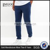 High Fashion Blue Basic Men Fitness Joggers Match Hoodies Playsuit Sweat Pants Custom With Side Pockets
