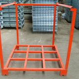 Metal Heavy Duty Warehouse Storage Tier Rack Stacking Folding Rack