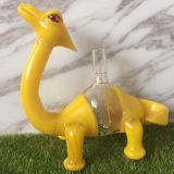Dinosaur Hookah glass bongs Rigs oil rigs dab rigs with male polished joint 14.5mmt