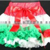 fashion chiffon ballroom dance tutu lace pettiskirt party skirt ruffles puffy chiffon children skirt chiffon dance kids skirt