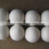 Imported wool felt dryer balls/competitive price laundry felt dryer ball