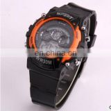 Men Sports Style Watch Leisure Fashion Electronic Digital LED 30m Shock Watches Waterproof Multi-function Wristwatch