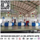 Inflatable Indoor ball Pool Attractions proof children commercial indoor playground equipment with Trampoline