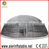 Newest inflatable transparent tent for wedding, inflatable transparent wedding party tent, transparent inflatable tent